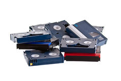 Dv tapes Royalty Free Stock Photos