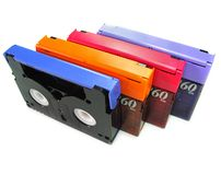 DV Tapes Stock Image