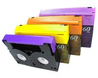 DV Tapes Stock Photography