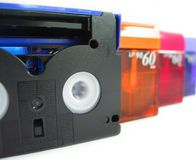 DV Tapes Stock Images