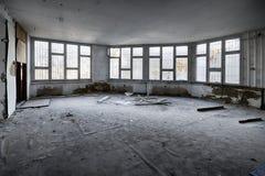 A dévasté une salle de dortoir Photographie stock libre de droits