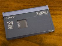 Free DVCAM Video Cassette Royalty Free Stock Photography - 147922527