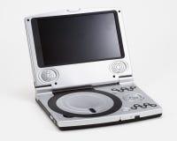 DVD机便携式银 免版税库存照片
