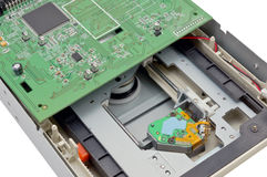 Dvd磁盘驱动器 库存照片