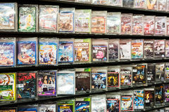 DVD立场 免版税库存照片