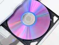 dvd ανοικτός δίσκος Στοκ Φωτογραφία