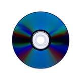 dvd που απομονώνεται Cd Στοκ Φωτογραφία