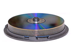 dvd диска Стоковые Изображения