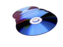 dvd дисков Стоковая Фотография