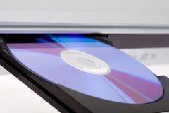 dvd диска выкидывая игрока Стоковое фото RF