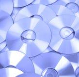 dvd компактного диска предпосылки Стоковое Фото