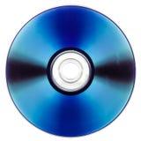 DVD над белизной Стоковое Изображение