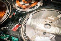 DVD-плеер внутренность Стоковое Изображение RF