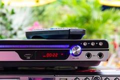 DVD-плеер с дистанционным управлением Стоковое Изображение RF