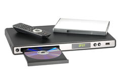 DVD机 免版税库存图片