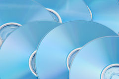 DVD. Background picture of colorful DVD disks royalty free stock image