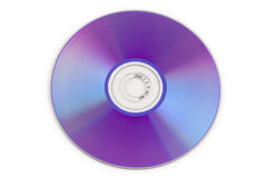 DVD. Colorful DVD disks isolated over a white background royalty free stock photos