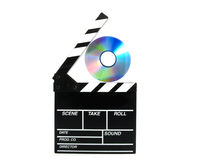 Dvd action board Stock Images