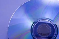 Dvd azul Fotos de archivo