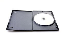 Dvd in black case Royalty Free Stock Images
