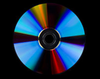 DVD blank isolated Royalty Free Stock Photo