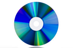 DVD blank isolated Stock Images