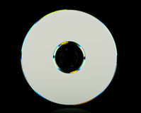 DVD blank isolated Stock Photography