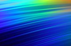 DVD blu Immagine Stock