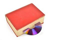 DVD and book Stock Photos