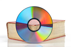 DVD and book Stock Photos