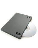 DVD box Royalty Free Stock Photo