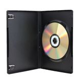 DVD box with disk Royalty Free Stock Photos