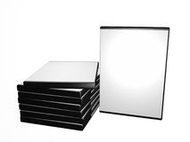 DVD boxes Royalty Free Stock Photography