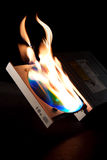 DVD burner Royalty Free Stock Photo