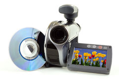 DVD Camcorder Royalty Free Stock Photo