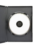 DVD in case Stock Photos