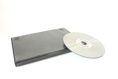 DVD with Case Stock Photography