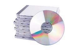 DVD case Stock Photos