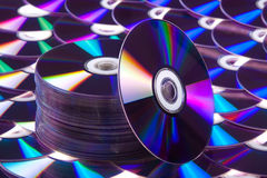 Dvd Cd Foto de Stock Royalty Free