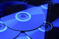DVD CD Stockbild