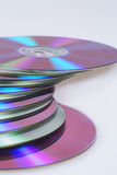 DVD CD Immagini Stock