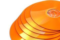 DVD CD imagem de stock