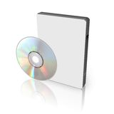 DVD or CD Box Stock Photography