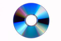 dvd cd d'isolement Photographie stock