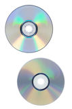 Dvd and cd disc Stock Image