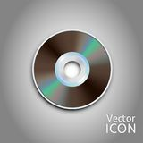 DVD CD disc. Computer disks. Realistic image. DVD and CD disc. Computer disks. Realistic image. Made in vector illustration Royalty Free Stock Image