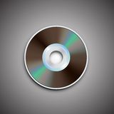 DVD CD disc. Computer disks. Realistic image. DVD and CD disc. Computer disks. Realistic image. Made in vector illustration Stock Photography