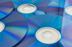 Dvd or cd disks Royalty Free Stock Photo