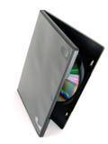 Dvd/cd geval Royalty-vrije Stock Afbeeldingen