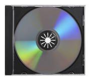 DVD CD Kasten mit Pfad Lizenzfreie Stockfotos